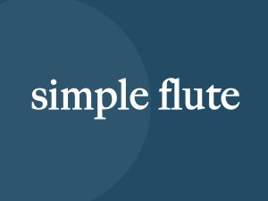 Simple Flute